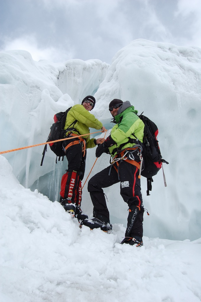 rescue on 5400 m